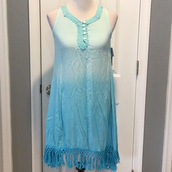 Island Beach Other - Island Beach Turquoise Cover Up